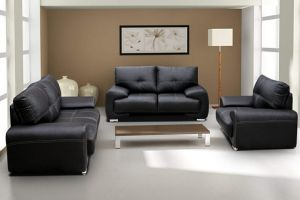 Polstergarnitur Sofa Set 3er & 2er & Sessel 3-2-1 Wohnlandschaft